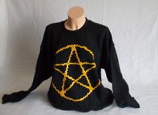 Gildan Camisa de Manga Larga Negro con Estampado Talla XL Nuevo