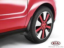 Genuine Kia Soul 2014-on Front Mudflaps Kit - B2F46AC000