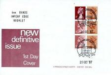 Great Britain Booklet Pane First Day Covers (1971-Now)