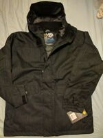 $280 686  MANDATE MEN SKI SNOWBOARD INSULATED Nylon Oxford JACKET DC Burton XL