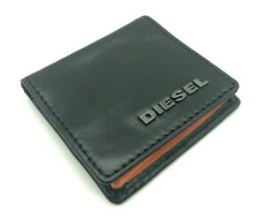 DIESEL ZIGGY Genuine Leather Mens Womens Unisex Coin Bag Small Purse RRP £85