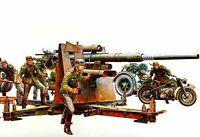 Tamiya 1:35 WWII Dt. Flak 8,8 m.Moto