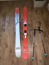Line Sir Francis Bacon 2020 Skis w/Salomon Bindings - 155cm