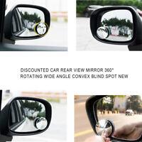 """Punto Ciego Espejo Redondo Adhesivo De 2/"""" pulgadas de ángulo de visión amplio ajuste fácil van car X 1"""
