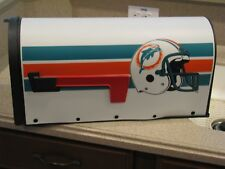 VINTAGE MIAMI DOLPHINS MAIL BOX, RARE, REAL OLD DESIGN,