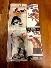 Rambo Trilogy Mirage Toys Action Figure Rambo First Blood Part 2,3 Rare