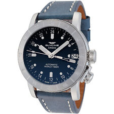 Glycine Men's 3953.181.LB8B Airman 46 Automatic GMT 46mm Blue Dial - GL0060