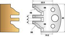 Fers de toupie hauteur 40 - Profil et contre-profil n° 97