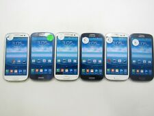 Lot of 6 Samsung Galaxy S3 L710 Sprint 16GB Check IMEI Poor Condition 3-659