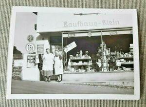 Kleines Foto Remscheid 'Kaufhaus-Klein'   Laden Geschäft Reklame Werbung 50er