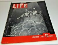 November 1, 1937 LIFE Magazine Old ads 30s Advertising ad FREE SHIPPING Nov 11
