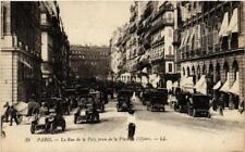 CPA PARIS (2e) La Rue de la Paix prise de la Place de l'Opera (537391)