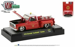 """M2 Machines Hobby Exclusive """"Chief Low Flame"""" 1976 Chevy Scottsdale SquareBody"""