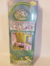 Disney Fairies Tinkerbell Fairy Pre-Pasted Small Accent Border Floral Wall Paper