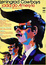 Leningrad Cowboys Go America 1989 Polish B1 Poster