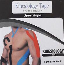 Premium KINESIOLOGY TAPE Kinesiotape Sport Physiotape Klebeband *Latexfrei* NEU