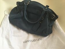 NEW Vanessa Bruno Indigo Calfskin Leather Bag, Current Style 'Lune'