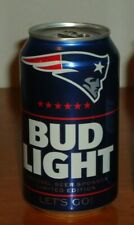 New England Patriots Super Bowl LIII Champions Bud Light Commemorative Beer Can