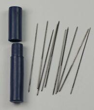 Watch Broaches x10 enlarging cutting holes hands & movements  broach 0.35-0.8mm