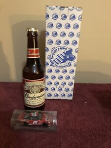 Dale Earnhardt Jr. #8 1:64 Scale Car in a Bottle, Budweiser 2002 Monte Carlo