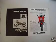 advertising Pubblicità DOPPIA 1982 LAVERDA 1000 RGS