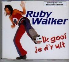 (BF735) Ruby Walker, Ik Gooi Je D'R Uit - 1996 CD