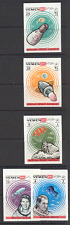 Yemen Space/Astronauts/Manned Capsules 5v IMPERF b3079