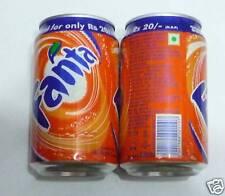 FANTA can INDIA 330ml ORANGE Coca Cola Old 2010 Design Collect