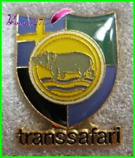 "Pin's TRANSSAFARI Animal "" UN HIPPOPOTAME ""  Hippo Afrique Safari Savane"