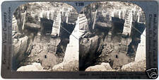 Keystone Stereoview a Marble Quarry in Proctor, VERMONT from the 1930's T400 Set