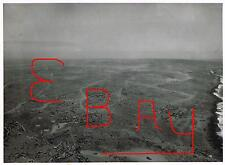 WWII HUGE 11X14 AERIAL PHOTOGRAPH IWO JIMA 5TH MARINES VIEW ATOP MT SURIBACHI