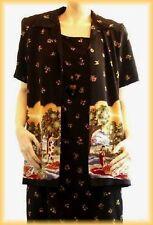 SAG HARBOR - PROPHECY 2 Pc Dress & Jacket Set (8) Polynesian Island Tropical