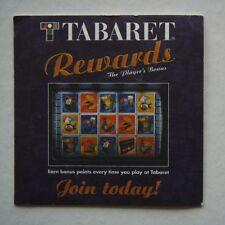 TABERT REWARDS THE PLAYER'S BONUS JOIN TODAY! COASTER