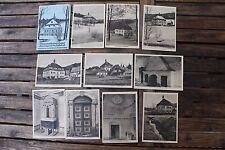 29155 Sammlung 10 alte AK Hammerherrenhaus Schmalzgrube Jöhstadt Erzgebirge 1930