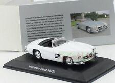 1/43 Mercedes Benz 300SL Roadster Car model Diecast White