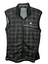 Pearl izumi Women's Elite Barrier Vest Black Plaid, Size XL