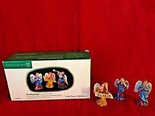 Heralding Angels Dept 56 Little Town of Bethlehem 59759 retired Christmas