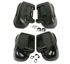 Lower Vented Leg Fairings Glove Box For Harley Touring Street Road Glide 2014-UP