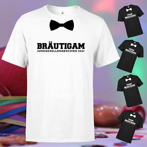 BRÄUTIGAM + TEAM Junggesellenabschied JGA Bräutigam Hochzeit Party T-Shirt