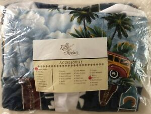Kelly Kouture Luxury Linens - Surf's Up - Diaper Stacker - NEW - Fast Shipping!