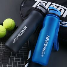 ONEISALL 1l Large Capacity Sports Water Bottles Flip-top Travel Mug  cup Blue