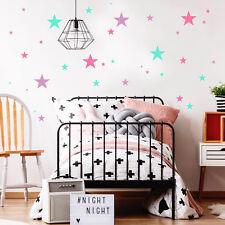 wandtattoo deko sterne 75teilig stern rosa 3farbig mdchen kinderzimmer 12368 - Fantastisch Besondere Kinderzimmer Bume