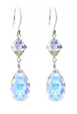 Aurora Borealis Drop Earrings Made With Swarovski Crystals