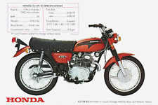 1971 HONDA CL175 VINTAGE MOTORCYCLE POSTER 24x36