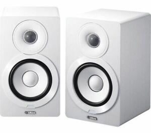YAMAHA MusicCast NX-N500 2.0 BLUETOOTH WIFI 2.1 MONITOR SPEAKERS USB WHITE NEW