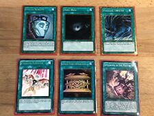 YU-GI-OH - SPELL CARDS X6 - PARALLEL TWISTER - GOLD SARCOPHAGUS - POT OF DUALITY