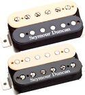 Seymour Duncan Hot Rodded Humbucker Set: SH-2 + SH-4 JB, Zebra/Reverse Zebra NEW for sale