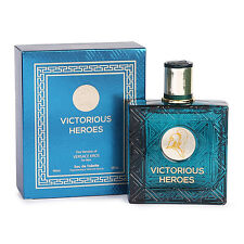 VICTORIOUS HEROES Eau de Toilette Perfume for Men 3.4oz 100ml EDT Spray