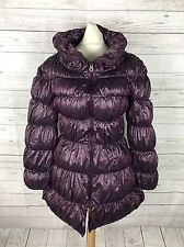 Women's MISS SIXTY Puffa Coat - XS UK6/8 - Purple - Great Condition