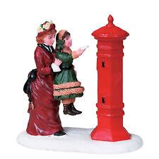 LEMAX Décoration lettres pour Père Noël,gâteau Noël artisanat figurine Boîte